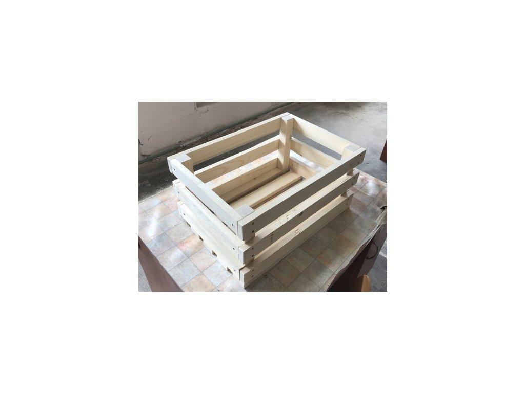 Výroba dřevěných bedýnek